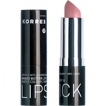 Rouge à Lèvres SPF10 Beurre de Mangue N°12 Frost Pink Korres