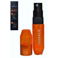 Easy Fill Perfume Spray 5ml Orange Travalo ICE