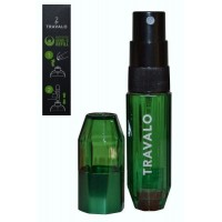 Easy Fill Perfume Spray 5ml Green Travalo ICE