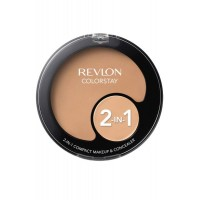 2 in 1 Compact Makeup and Concealer 11g Natural Beige 220 Colorstay