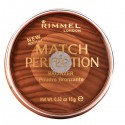 Poudre Bronzante Match Perfection Medium & Dark Rimmel