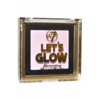 Let's Glow Illuminating Pressed Powder 6g W7 Cosmetics