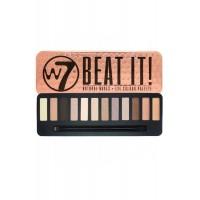 Beat It Eye Colour Palette 15.6g Natural Nudes W7 Cosmetics