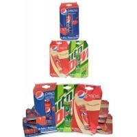 Lip Balm Pack of 24 3.4g Pepsi x 2 + Mountain Dew