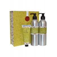 Bath and Body Care Trio Shower Creme, Body Lotion, Hand Cream Love in Idelness