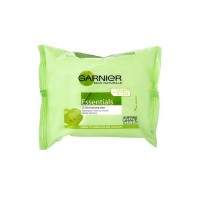 Pack de 25 Lingettes Simply Essentials Garnier ≡ GROSSISTE-MAQUILLAGE