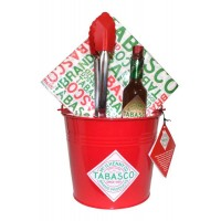 Chicken Wings Bucket Set Chipotle Sauce, Bucket, Tongs, Napkins