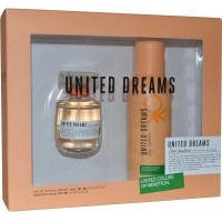 Eau de Toilette Rest Positive & Déodorant United Dreams 50ml Benetton