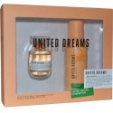 Eau de Toilette Rest Positive & Déodorant United Dreams 50ml Benetton