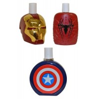 Eau de Toilette Homme Trio Offre Captain America, Ironman, Spiderman 100ml Marvel Avengers