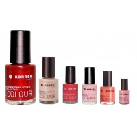 Kit de 6 Vernis à Ongles Long Lasting Korres