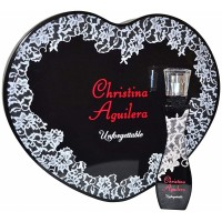 Coffret Unforgettable & Boîte Christina Aguilera ≡GROSSISTE-MAQUILLAGE