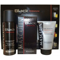 Coffret Black Premium Homme Bourjois ≡ GROSSISTE-MAQUILLAGE