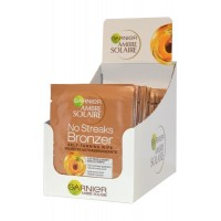 No Streaks Bronzer Self Tanning Wipe Pack of 30 x 5.6ml for Face and Body Ambre Solaire
