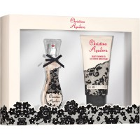 Coffret Parfum et Gel Douche Christina Aguilera ≡ GROSSISTE-MAQUILLAGE