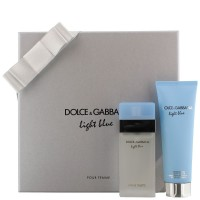 Coffret Light Blue Femme Dolce & Gabbana ≡ GROSSISTE-MAQUILLAGE