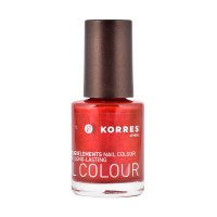 Vernis à Ongles N°56 Metallic Red Korres ≡ GROSSISTE-MAQUILLAGE