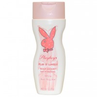 Lait corps 24h pivoine Play it Lovely Playboy ≡ GROSSISTE-MAQUILLAGE