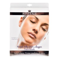 Masques visage Gelée royale & collagène Revitale ≡GROSSISTE-MAQUILLAGE