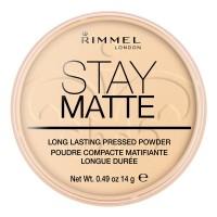 Poudre Matifiante N°01 Stay Matte Rimmel London ≡ GROSSISTE-MAQUILLAGE