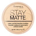 Poudre Matifiante N°01 Stay Matte Rimmel London ≡ GROSSISTE-MAQUILLAGE
