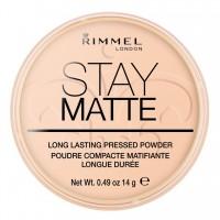 Poudre Matifiante N°06 Stay Matte Rimmel London ≡ GROSSISTE-MAQUILLAGE