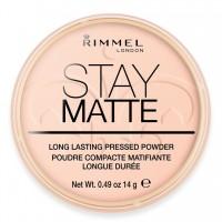 Poudre Matifiante N°02 Stay Matte Rimmel London ≡ GROSSISTE-MAQUILLAGE