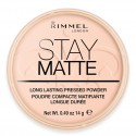 Poudre Matifiante N°02 Stay Matte Rimmel London ≡ GROSSISTE-MAQUILLAGE