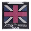Quadro d'ombres à paupières N°008 Rimmel London ≡ GROSSISTE-MAQUILLAGE