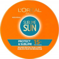 Body Protect Baume Sublime Sun SPF15 L'Oréal ≡ GROSSISTE-MAQUILLAGE