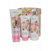 Coffret Rose anglaise Yardley ≡ GROSSISTE-MAQUILLAGE