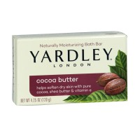 Barre de bain naturelle beurre de cacao Yardley ≡ GROSSISTE-MAQUILLAGE