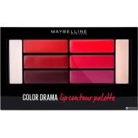 Lip Contour Palette N°02 Crimson Maybelline ≡ GROSSISTE-MAQUILLAGE