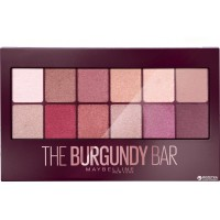 Palette The Burgundy Bar Maybelline ≡ GROSSISTE-MAQUILLAGE