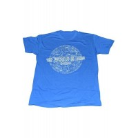 T-Shirt Large Blue Only The Brave