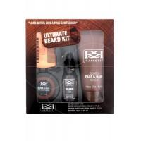 Ultimate Beard Kit - Beard Oil 30ml Face Wash 150ml,Styling Cream 50ml,Comb